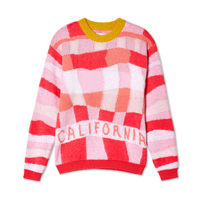 ERL California Knit Sweater (Pink)