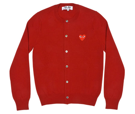 Red Play Ladies' Cardigan (Red)