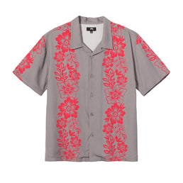 Stüssy Hawaiian Pattern Shirt (Grey)