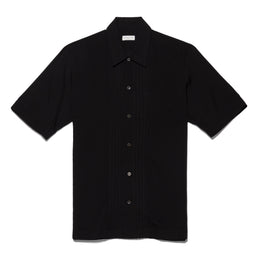 Dries Van Notenn Men's Camillo Bowling Shirt (Black)