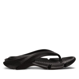 Balenciaga Men's Molded Rubber Thong Sandal (Black)