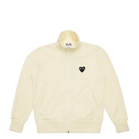 Play CDG Big Heart Track Top (Ivory)