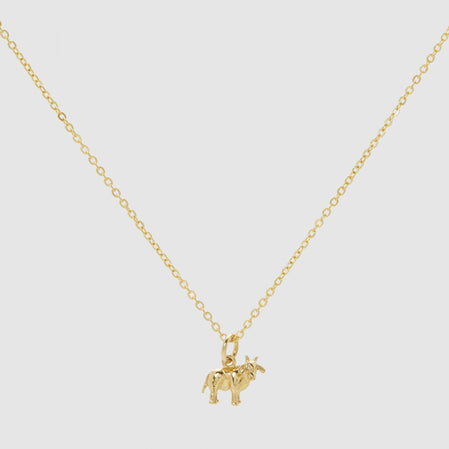 Patcharavipa Tiny Ox Necklace