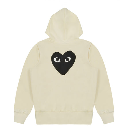 Play CDG Big Heart Sweatshirt (Ivory)