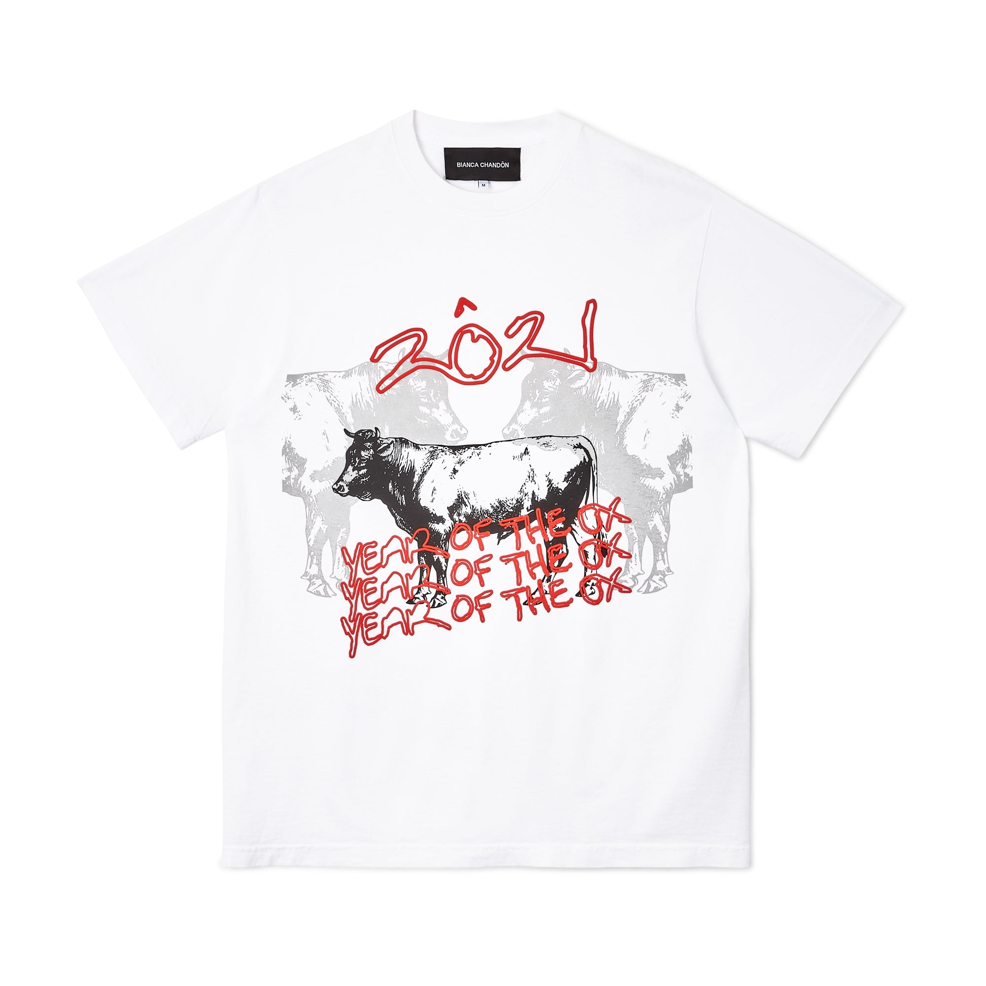 Bianca Chandon Year of the Ox T-Shirt (White)