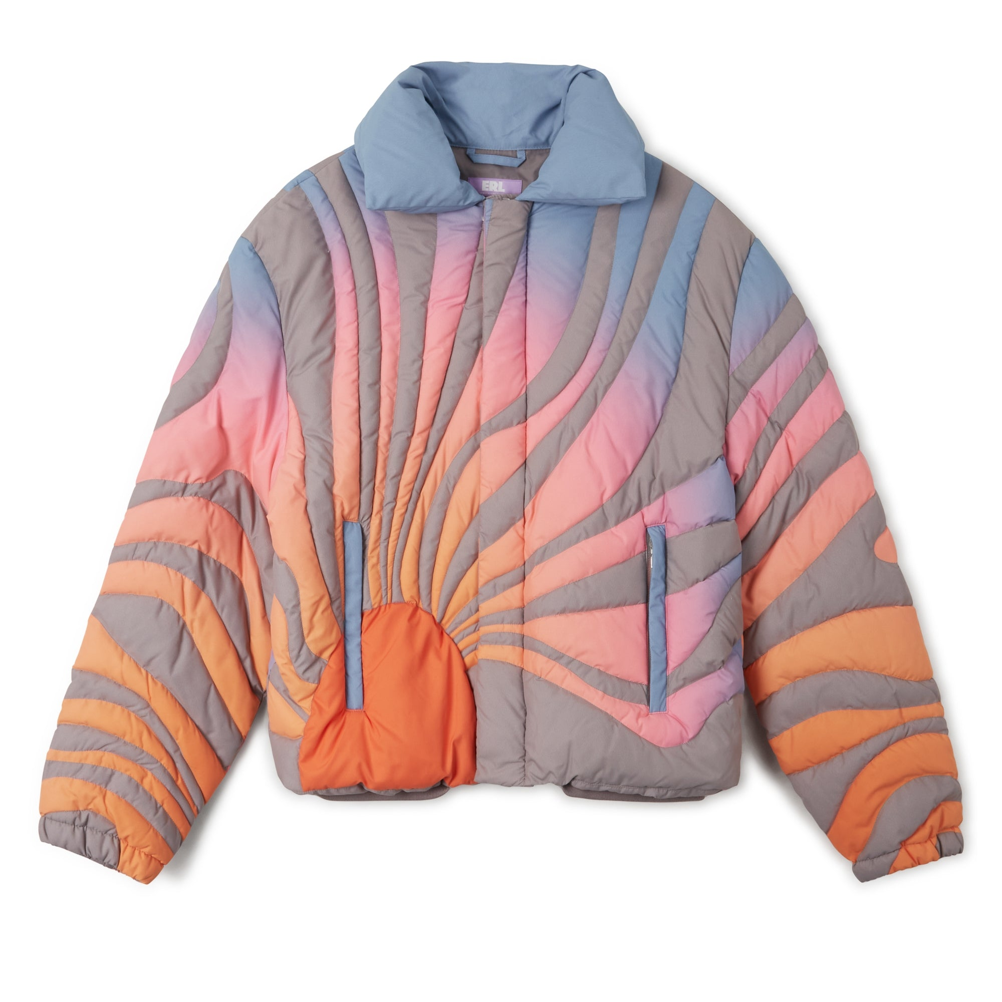 ERL Sun Bomber Jacket (Orange)