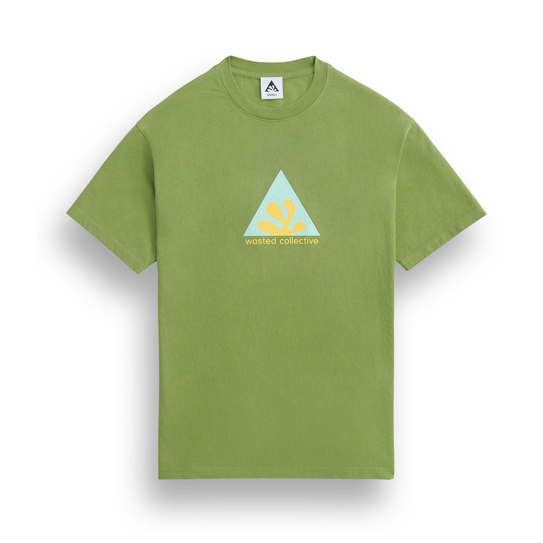 Wasted Collective Icon Tee Ss (Avocado)