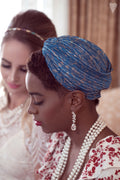 Trouvaille Turban perfect hair accessoryround your forehead, behind your head, or even be used to bring your hair back.