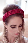 Marie Headband  premium silk material, which allows you to bring the beauty out of your hair