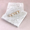 Suzette Hair Clip with luxury golden alloy base and finished off with ivory shell pearls