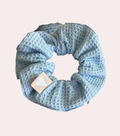 Bonne Nuit Spa Scrunchie has a zipper and adds cuteness and elegance to your spa or everyday routine