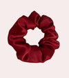 Rouge Silk Scrunchie
