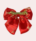 Chinese Brocade Bow