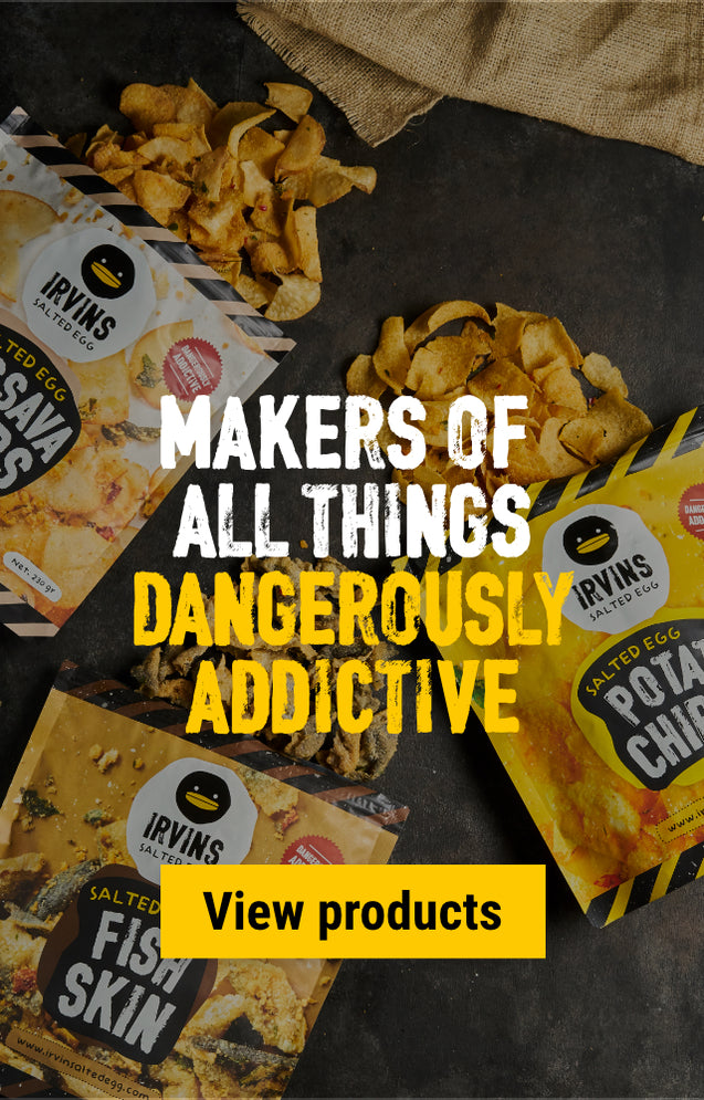 IRVINS Makers of all things dangerously addictive