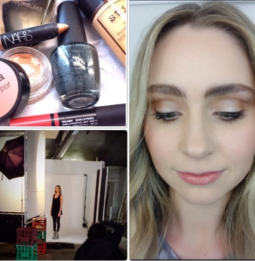 Make Up Artist Vanessa Belle presents us through AW 2015 Agate - The Look