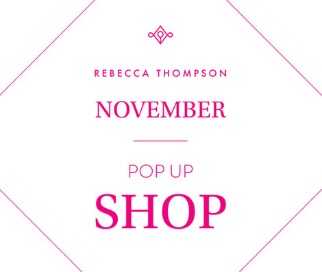 Rebecca Thompson November Melbourne Pop Up is back!