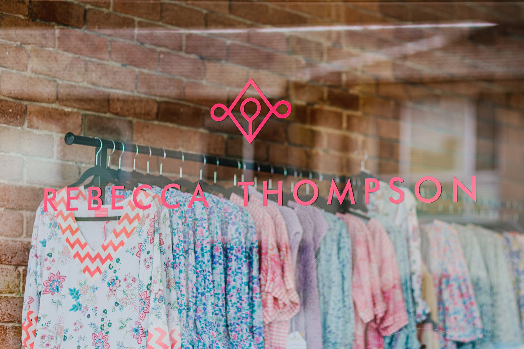 Rebecca Thompson - VISIT US IN STORE Rebecca Thompson's flagship store stocks our own exclusive online and in store collection, mixed with and our collaboration ranges, Rose Hudson Millinery and Cammino shoes.