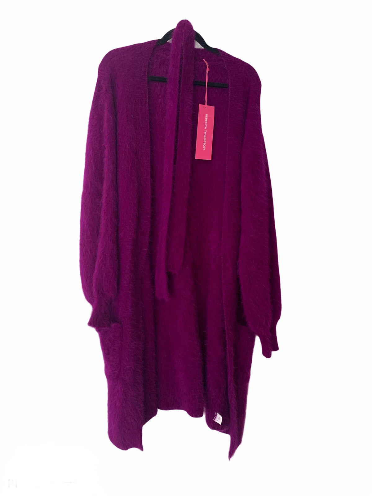 Knit Cardigan Orchid Purple