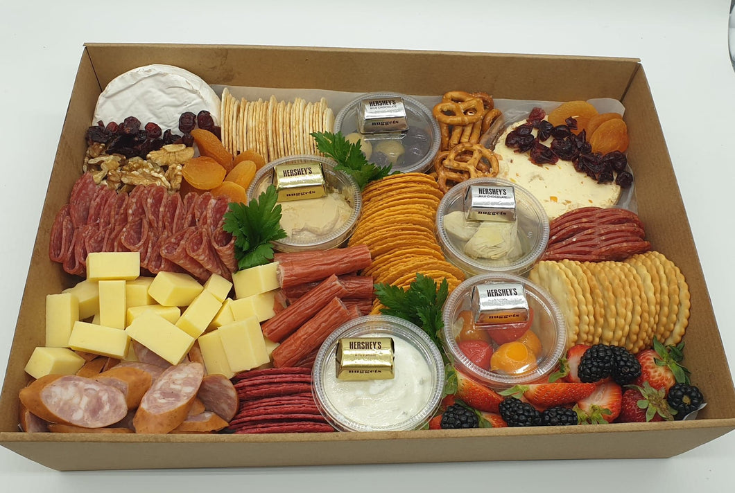 Savoury Grazing Box - Classic (Select Your Size)