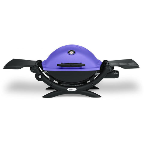 Weber Q 1200 Portable Propane Gas Grill - Purple