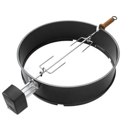 Weber 2290 Rotisserie Kit For 22-Inch Charcoal Kettle Grills