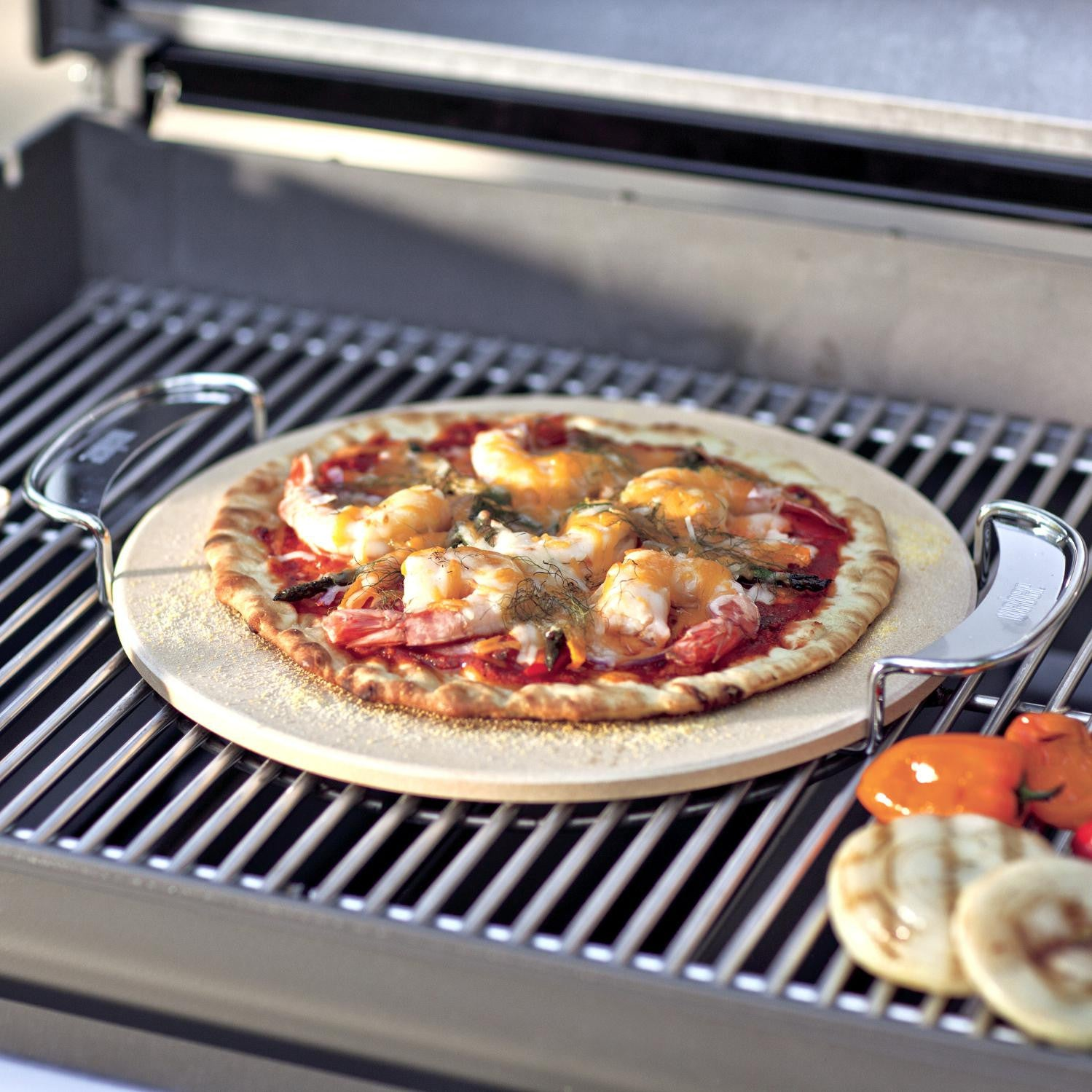 Weber 8836 Pizza Stone Set - 2-Pieces