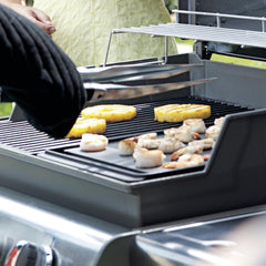 Weber 7566 Porcelain-Enameled Cast Iron Reversible BBQ Griddle For Genesis E & S 300 Series Gas Grills