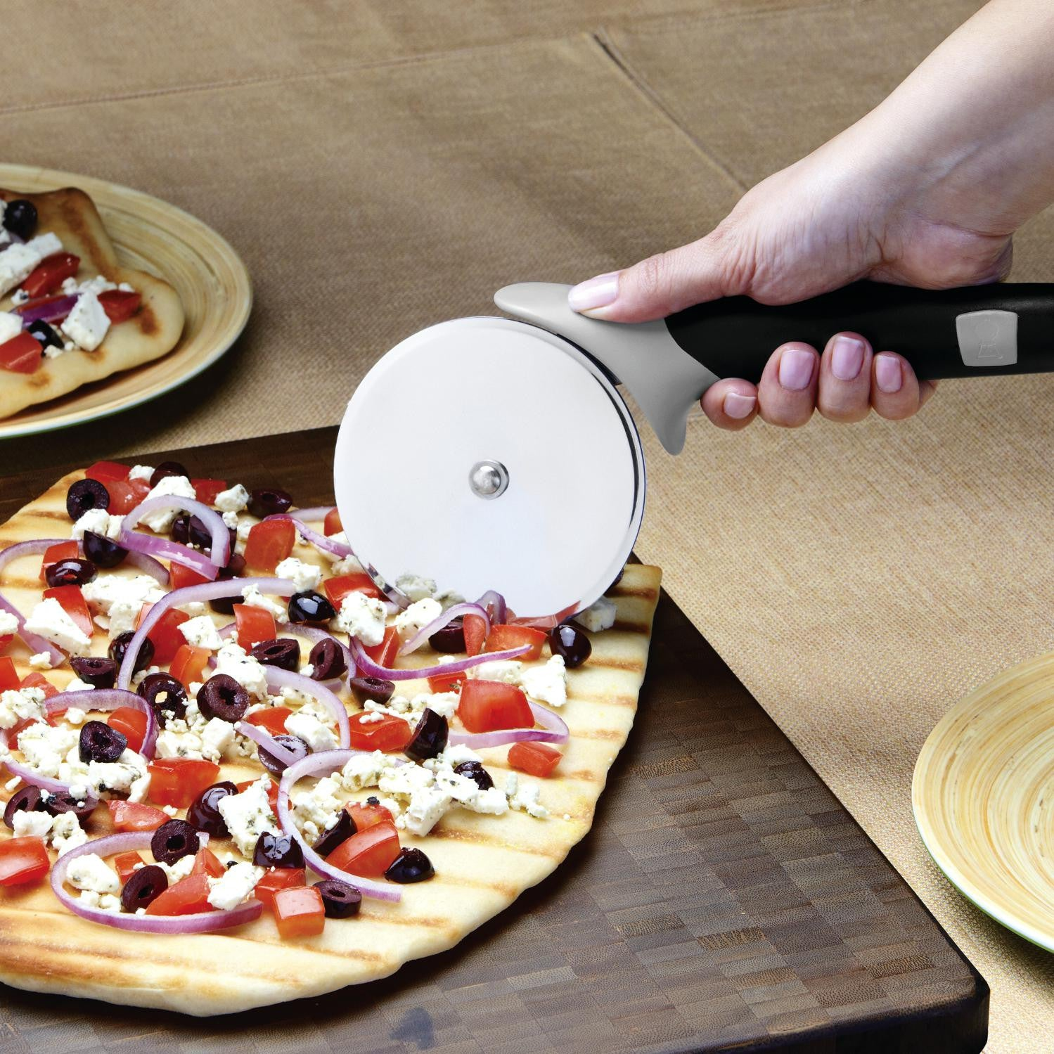Weber 6690 Stainless Steel Pizza Cutter