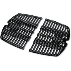 Weber 7644 Porcelain-Enamel Cast-Iron Cooking Grates For Q 100 & 1000 Series Gas Grills