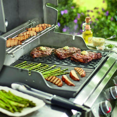 Weber 8854 Porcelain-Enameled Cast Iron Sear Grate For Genesis II Gas Grills