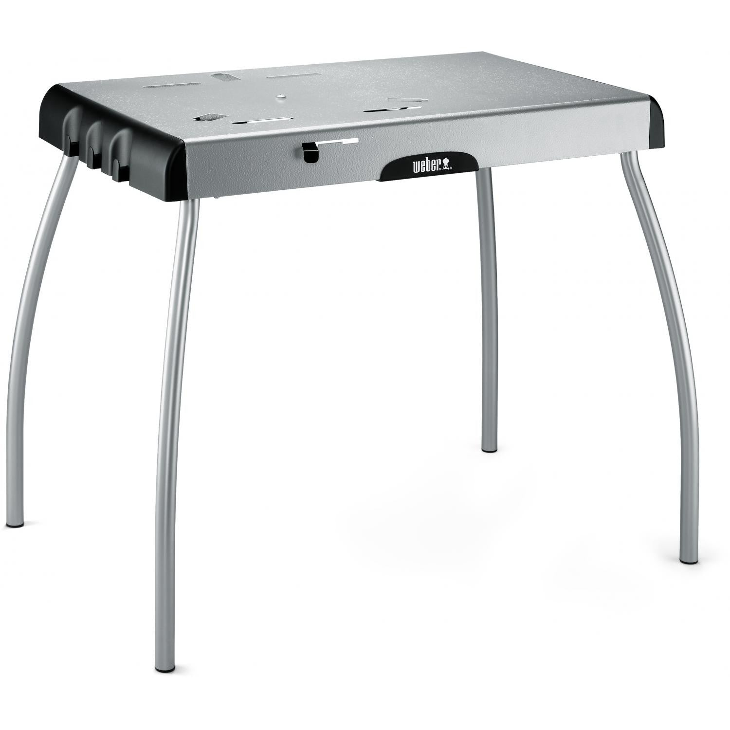 Weber 7445 30 X 19-Inch Painted Steel Portable Charcoal Grill Table With Tool Hooks