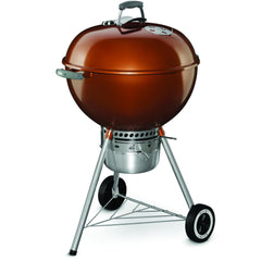 Weber Original Kettle Premium 22-Inch Charcoal Grill - Copper