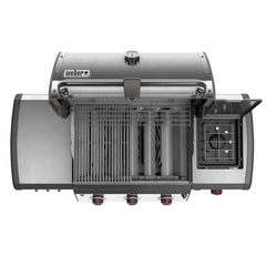 Weber Genesis II LX E-340 Freestanding Natural Gas Grill - Black