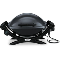 Weber Q 1400 Portable Electric Grill - Dark Gray