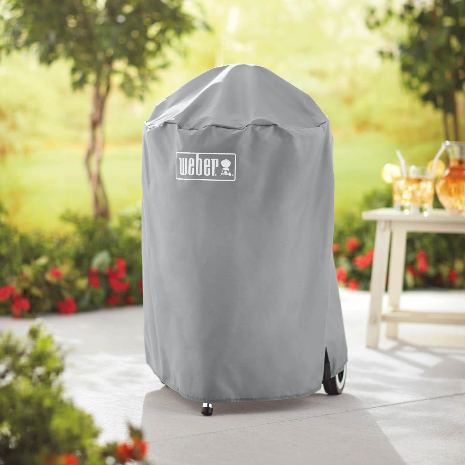 Weber 7175 Charcoal Kettle Grill Cover For Weber 18-Inch Grills