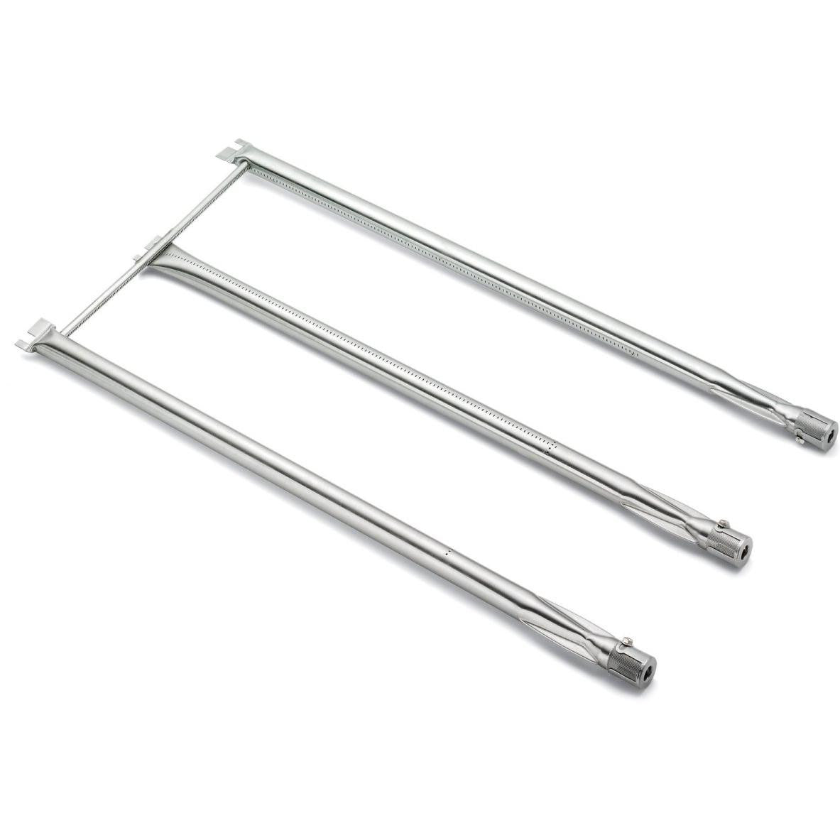 Weber 7506 Stainless Steel Grill Burner Tube Set For Weber Gas Grills - 4-Pieces