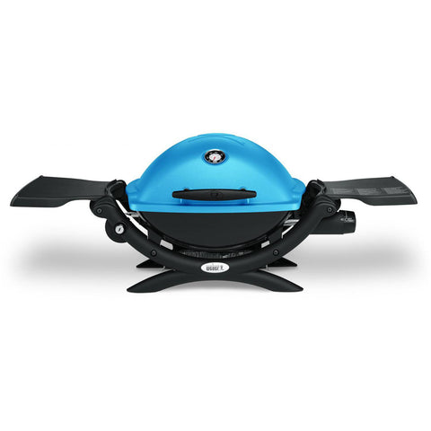 Weber Q 1200 Portable Propane Gas Grill - Blue