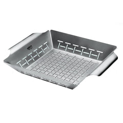 Weber 6434 Deluxe Large Stainless Steel Vegetable Grill Basket