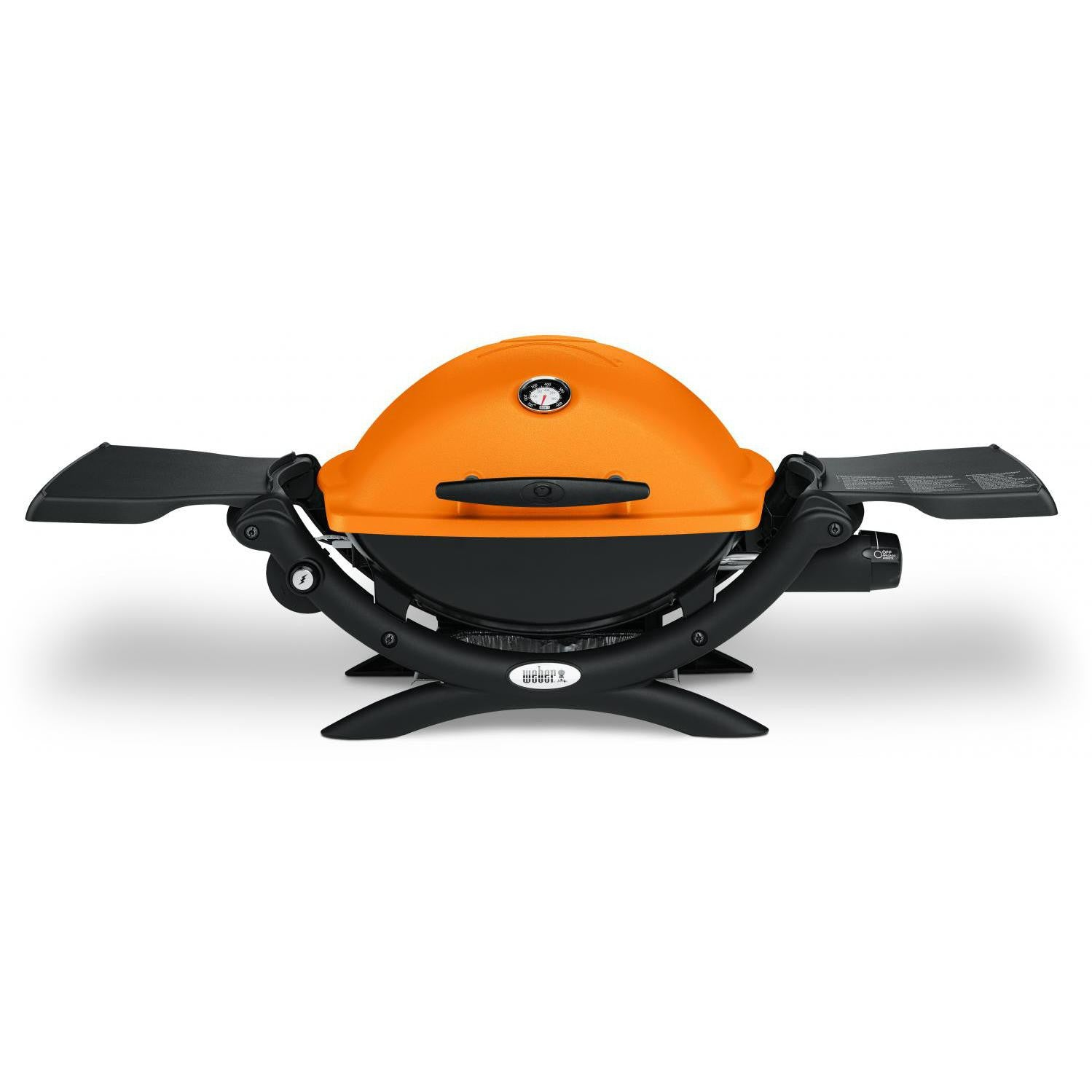 Weber Q 1200 Portable Propane Gas Grill - Orange