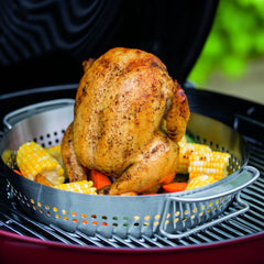 Weber 8838 Stainless Steel Poultry Roaster