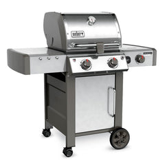 Weber Genesis II LX S-240 Freestanding Natural Gas Grill - Stainless Steel