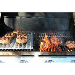 GrillGrate 5-Panel Replacement Grill Grate Set For Weber Genesis Gas Grills With Grate Tool