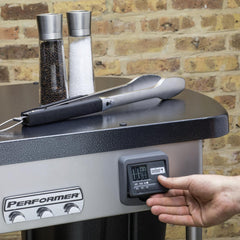 Weber Performer Deluxe 22-Inch Freestanding Charcoal Grill With Touch-N-Go Ignition