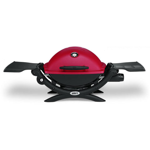 Weber Q 1200 Portable Propane Gas Grill - Red
