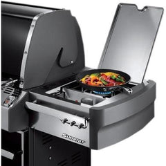 Weber Summit E-470 Freestanding Gas Grill With Rotisserie, Sear Burner & Side Burner - Black