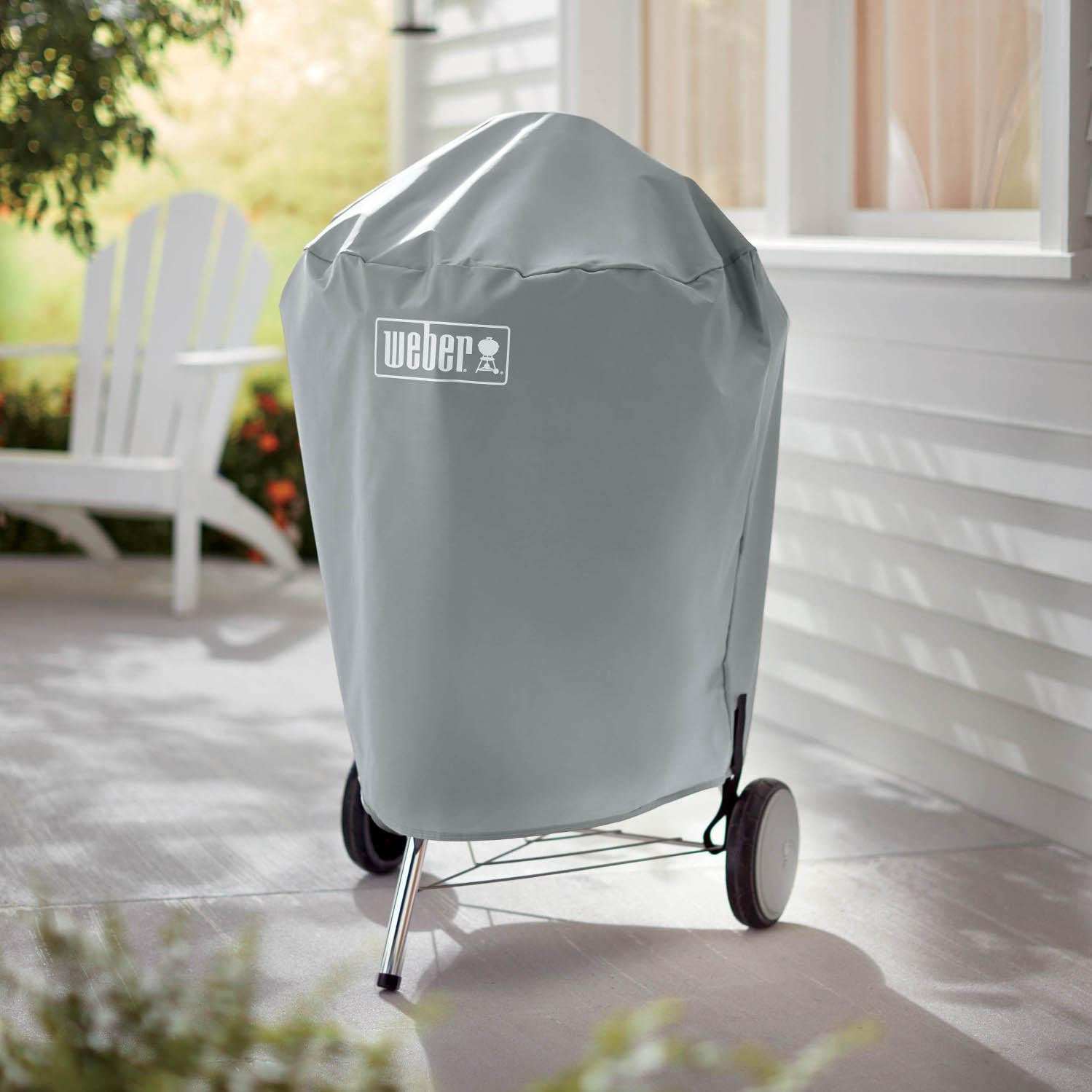 Weber 7176 Charcoal Kettle Grill Cover For Weber 22-Inch Grills