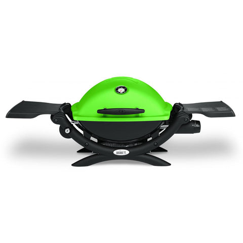 Weber Q 1200 Portable Propane Gas Grill - Green