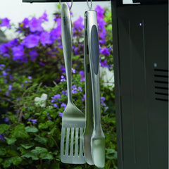 Weber 6707 Deluxe Stainless Steel BBQ Tool Set - 2-Pieces