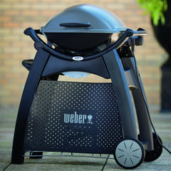 Weber 6525 Q Grill Cart For Weber Q 2000 Portable Grills