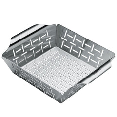 Weber 6481 Deluxe Small Stainless Steel Vegetable Grill Basket